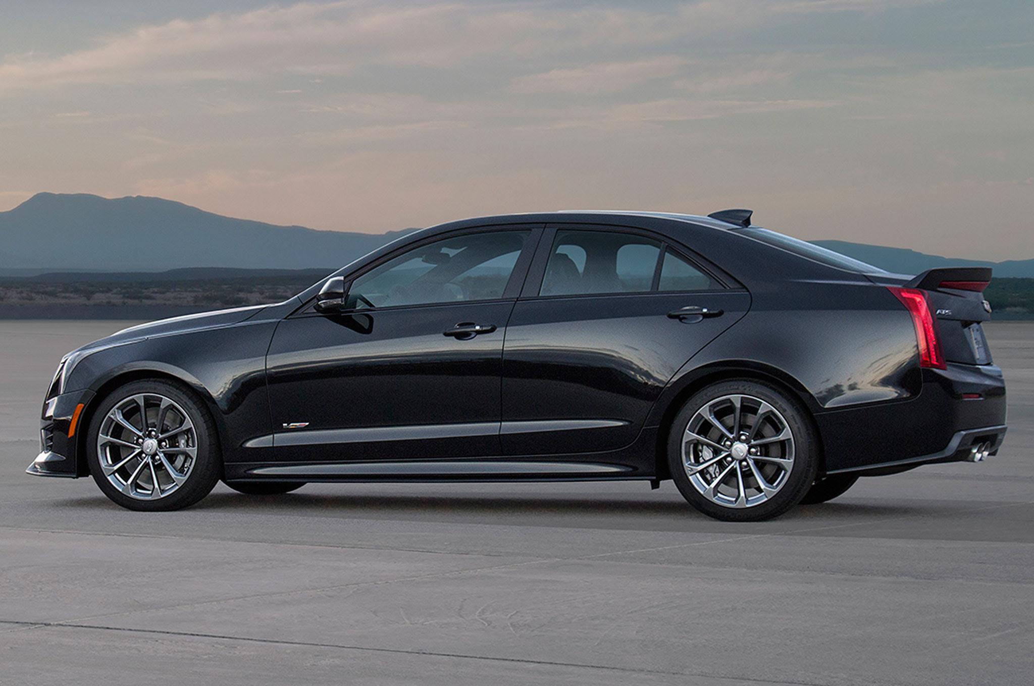 2016 Cadillac ATS-V Horsepower SAE-Rated at 464 HP