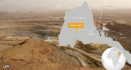 Nevsun Extends Mine Life at Bisha Until End of 2022