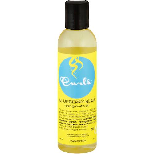 Curls Hair Growth Oil, Blueberry Bliss - 4 fl oz