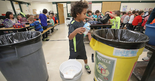 School milk carton recycling keeps 10 tons from landfill