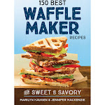 150 Best Waffle Maker Recipes: From Sweet to Savory By Marilyn Haugen, Paperback by VM Express
