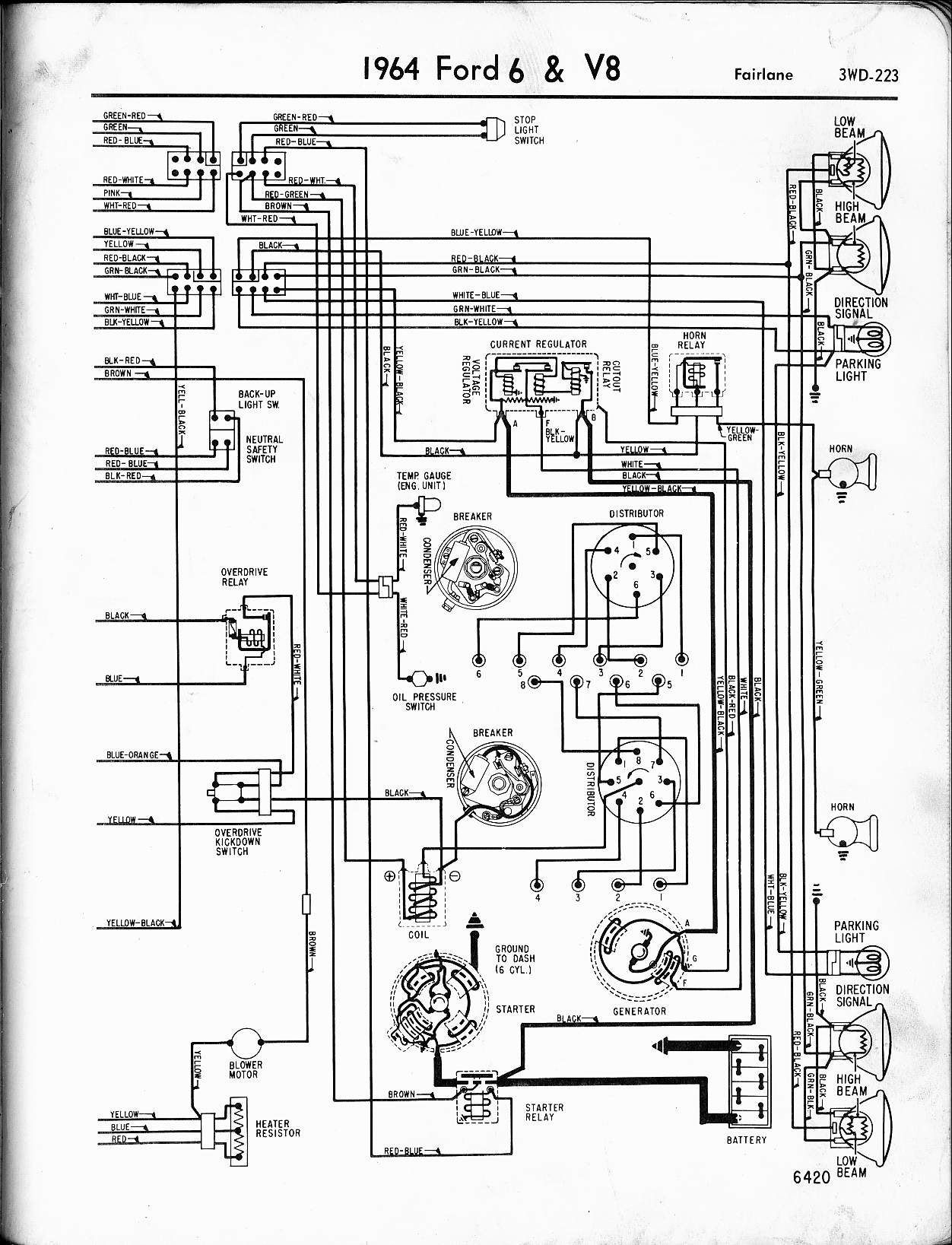 4133 Wiring Diagram For A 1964 Ford 2000 Tractor Wiring Resources