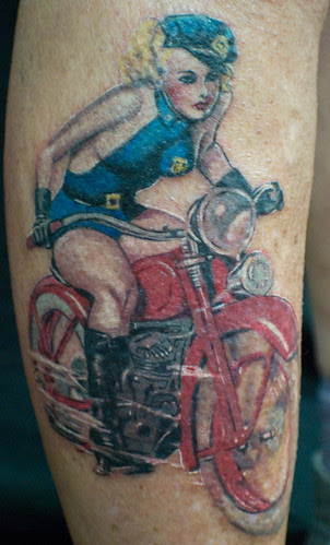 Bad Ass Pin Up Girl Find Me A Tattoo