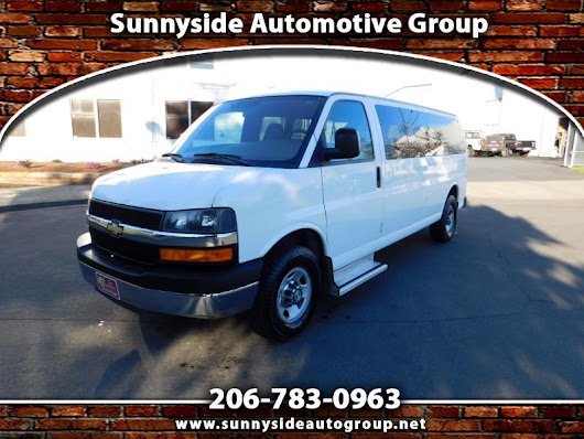 Used 2008 Chevrolet Express LT 3500 Extended for Sale in Seattle WA 98133 Sunnyside Automotive Group