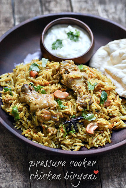 Chicken Biryani Recipe, Make Biryani in Pressure Cooker - Edible Garden