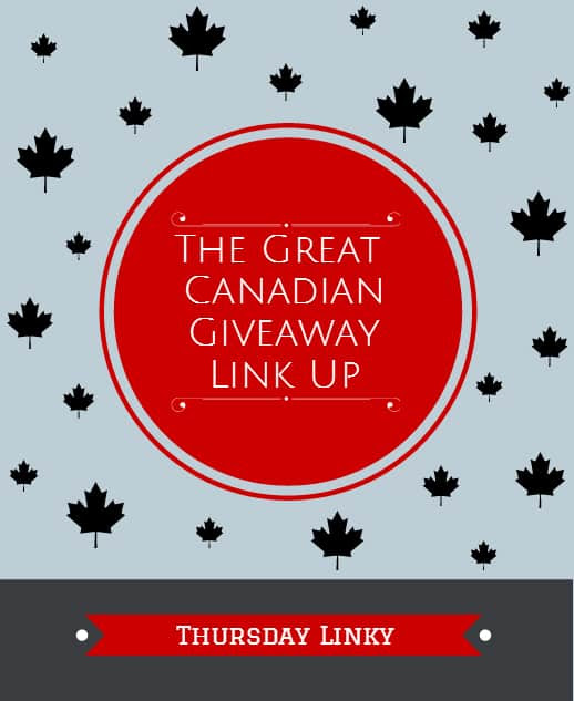 The Great Canadian Giveaway Link Up ~ Week of March 19th | Maple Leaf Mommy | Canadian Reviews and Giveaways, plus excerpts from my life as a Mom.