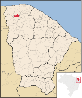 Localização de Moraújo
