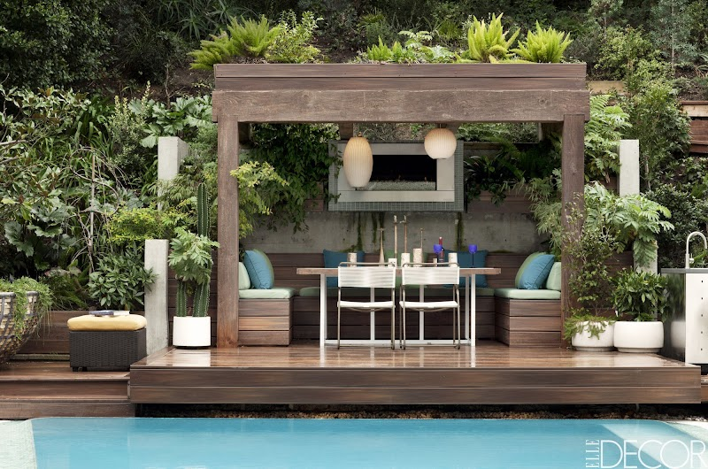 Ideas For Small Covered Patio Designs wallpaper