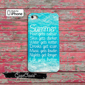 Summer Tumblr Quote Beach Mermaid Cute iPhone 4,4s,5,5s,5c