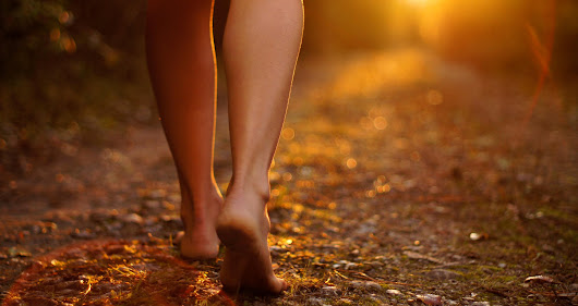 Can Walking Barefoot Heal Your Heart? - The Sacred Science