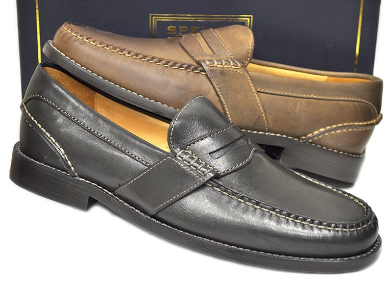 New Sperry Gold Cup Mens Shoes Penny Loafer $150.00 | eBay