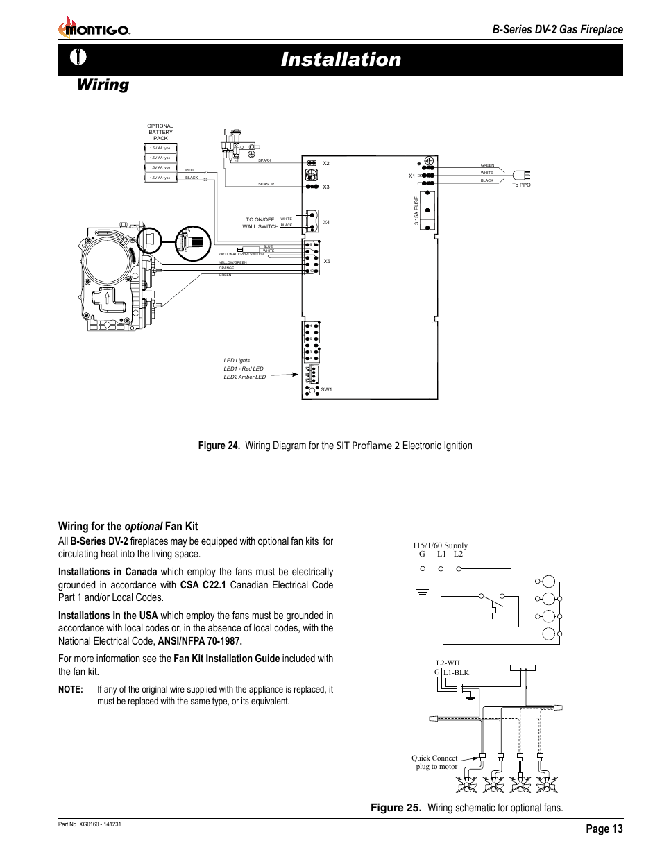 Wiring Diagram Ga Fireplace