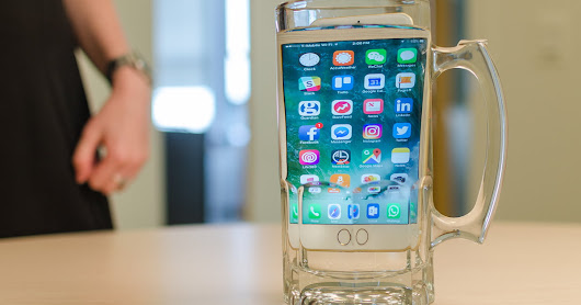 When will every phone be water resistant? We asked an expert