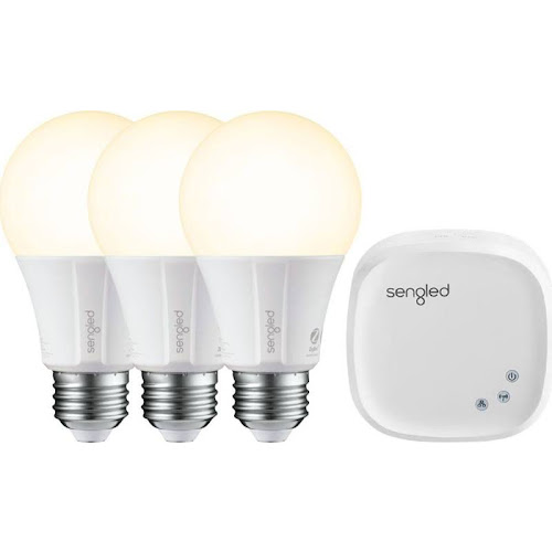 Sengled - Smart LED A19 Starter Kit - White