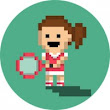 Score big with Tiny Tennis for Android