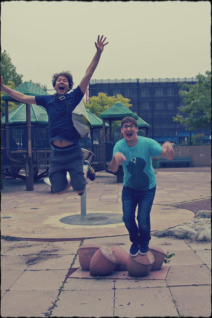 boys jump