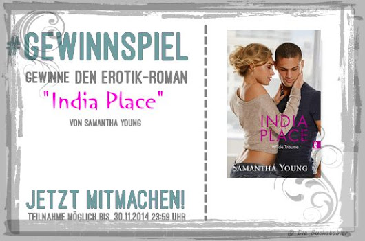 "**Rezension** Samantha Young ""IndiaPlace - Wilde Träume"""