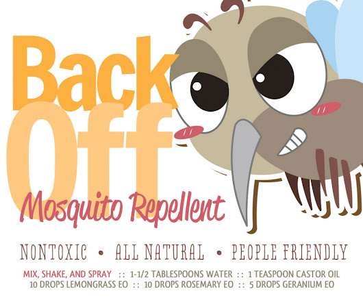 Non-toxic, All natural, People Friendly Homemade Mosquito Repellent | How To Instructions