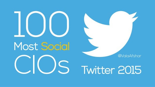 100 Most Social CIOs on Twitter 2015