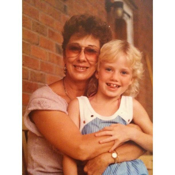 Me and Mom Mom.... #flashback