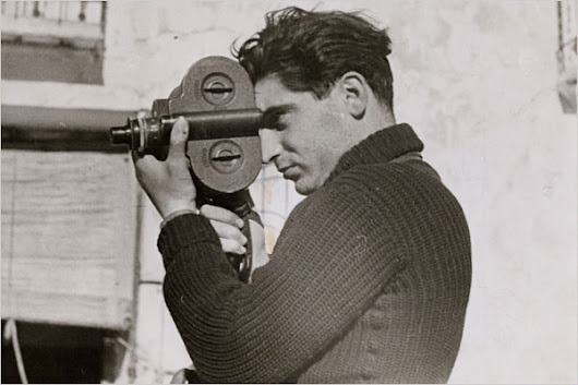 Today is Robert Capa's birthday