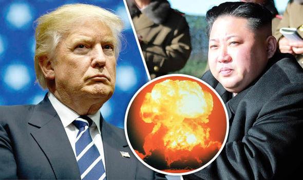 Image result for trump vs kim