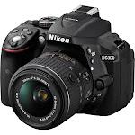 Nikon D5300 24.2 MP Digital SLR Camera - Black - AF-S VR DX 18-55mm Lens
