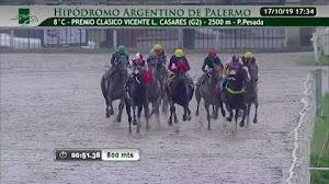 El triunfo de BALOMPIE $3,30 en el Vicente Casares G2 nos permitió acertar la Trifecta