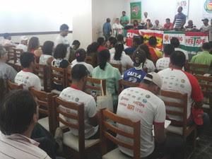 O Presidente do Sindicato dos Trabalhadores Rurais afirmou que negociação foi positiva para a categoria. (Foto: Carol Souza/ G1)
