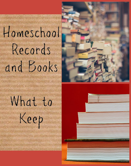 Homeschool Records and Books - What to Keep - The Homeschool Post