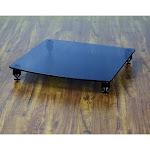 VTI 36440 Pro 36000 Series Amp Stand (Black Pole Black Glass)