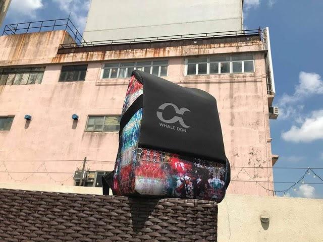【開箱】迷彩「藏」系列背包 - 台灣 WHALE DON 香港網店獨家發售