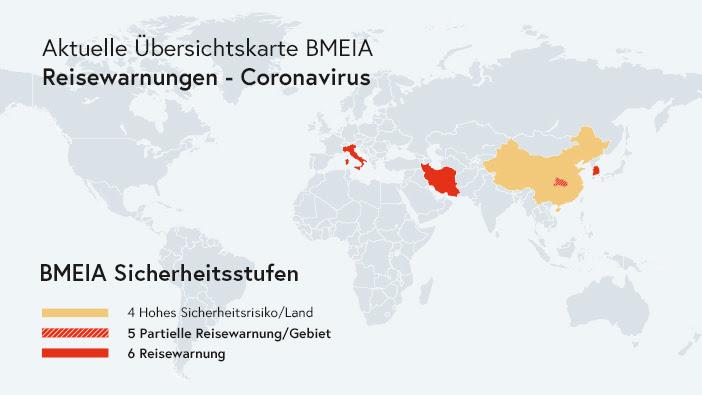 Reisewarnungen österreich