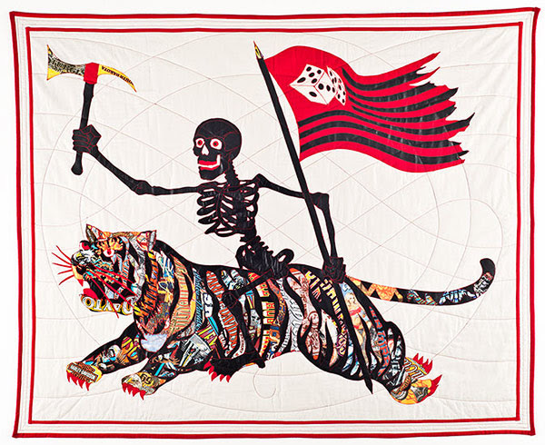 quilts made of heavy metal t-shirts