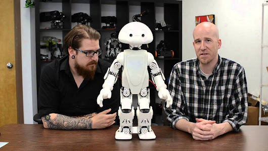 "Announcing, 21st Century Robot ""Jimmy"" - YouTube"