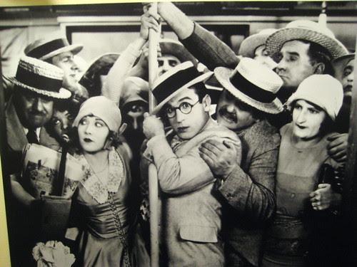 Harold Lloyd in Speedy 1920's movie