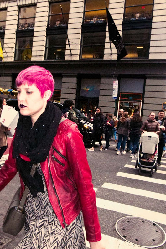 Pink in Soho