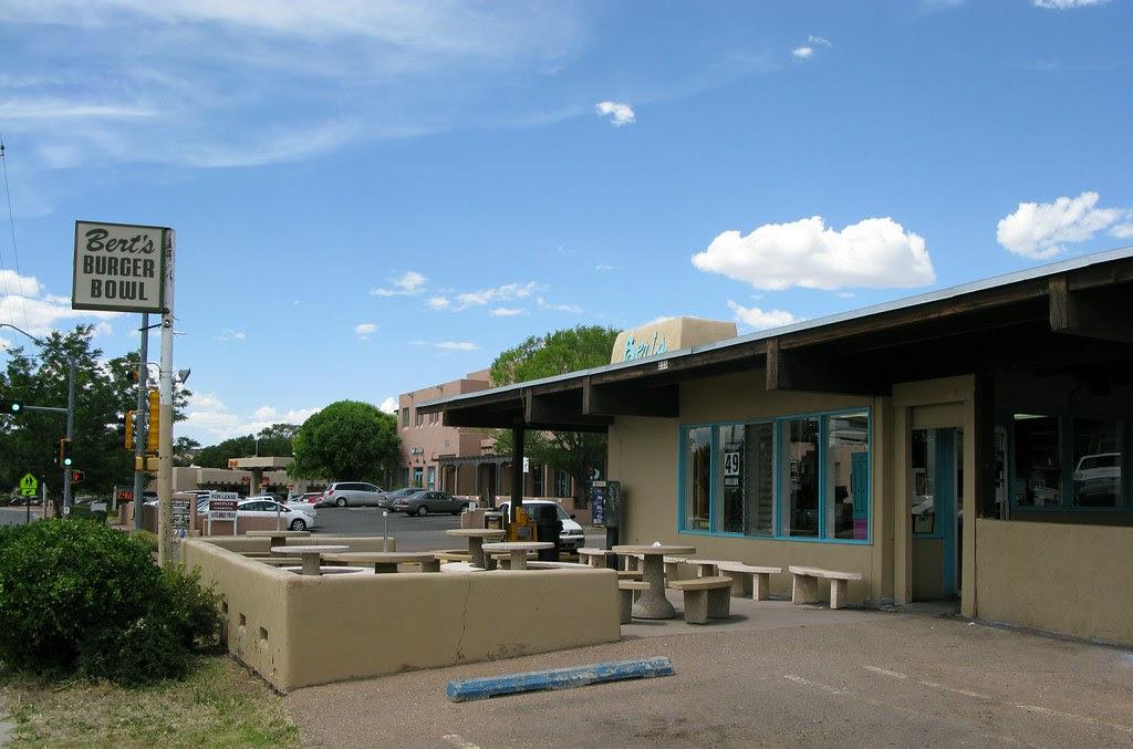 Berts Burger Bowl Santa Fe, NM