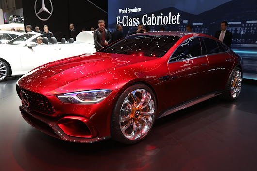Mercedes-AMG GT Concept First Look Review