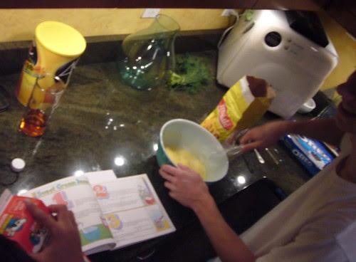 ice cream production