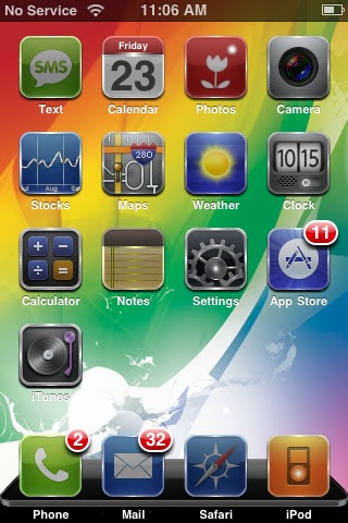ipod touch jailbroken themes