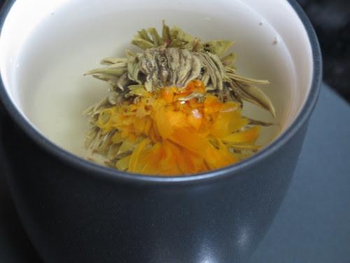 Tea Blossom Blooming