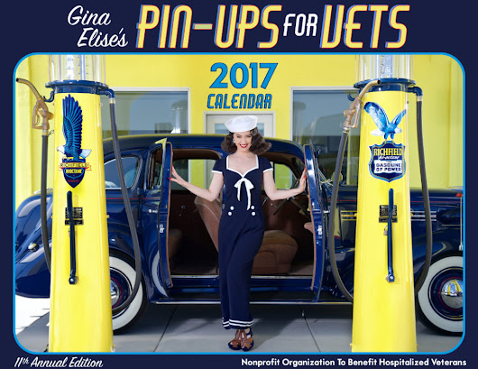 Gina Elise and Pin-Ups For Vets – Idol Features