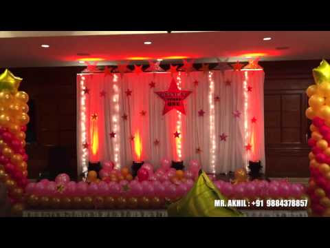 Akhil evnts google for Balloon decoration in chennai