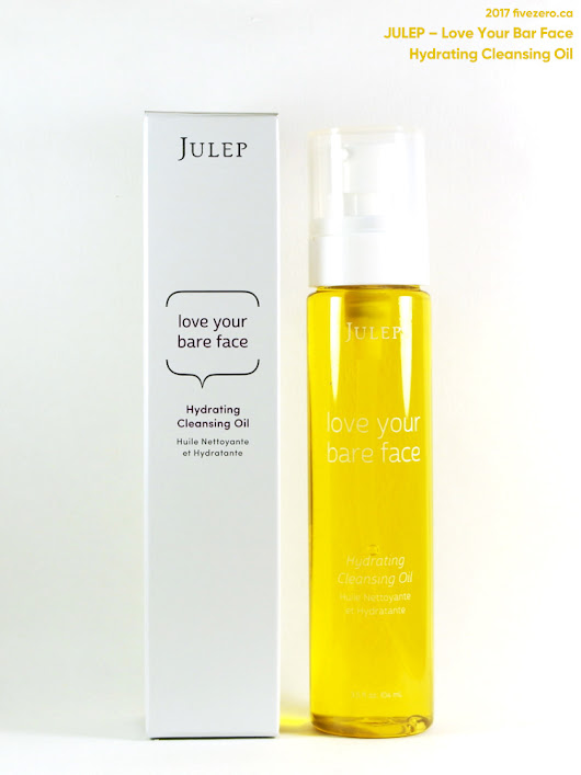 Julep — Love Your Bare Face Hydrating Cleansing Oil Review