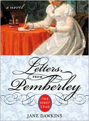 Letters from Pemberley by Jane Dawkins: Book Cover