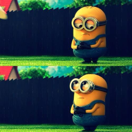 Minion Is Sorry Sad For Disappointing You In Despicable Me