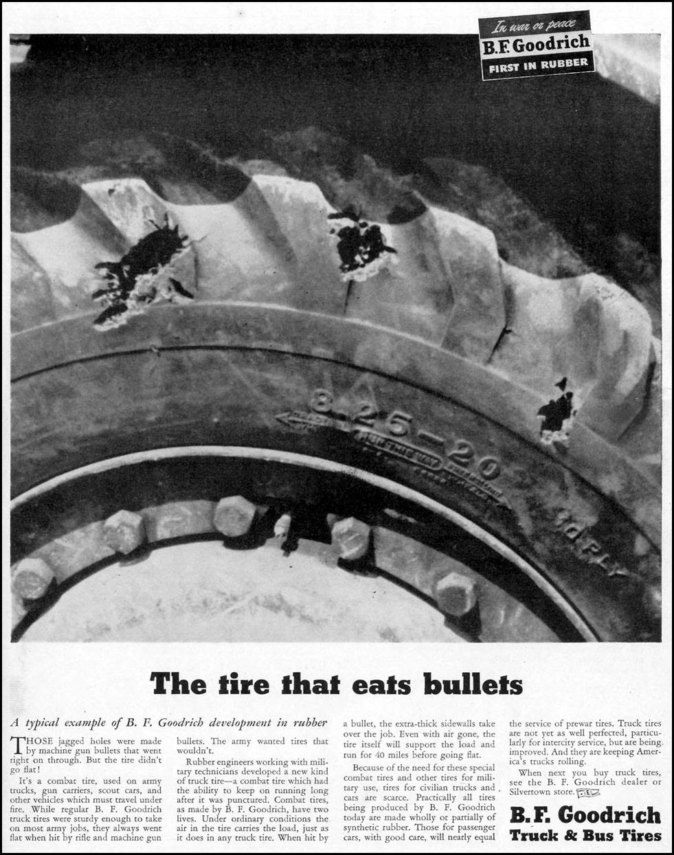 B. F. GOODRICH TRUCK AND BUS TIRES LIFE 02/21/1944 p. 3