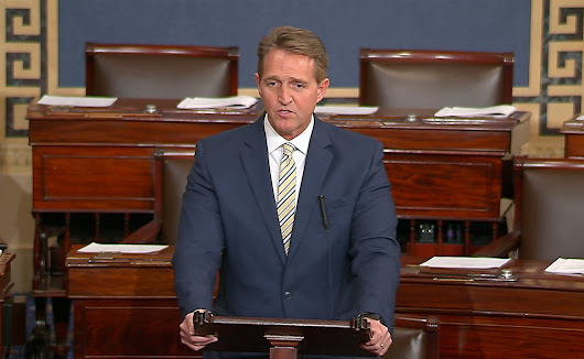 'Our democracy will not last': Jeff Flake's speech comparing Trump to Stalin, annotated - The Washington Post