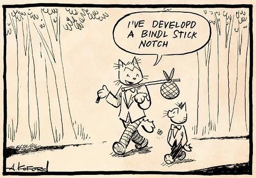 Laugh-Out-Loud Cats #2267 by Ape Lad